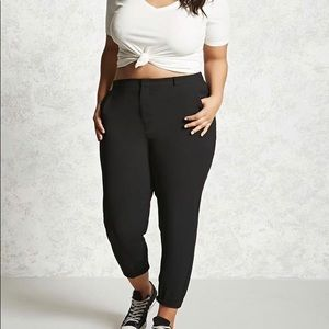 Forever 21 woven high waisted pants